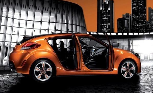 2012 Hyundai Veloster and Three-Door Cars & 2012 Hyundai Veloster and Three-Door Cars   PURSUIT