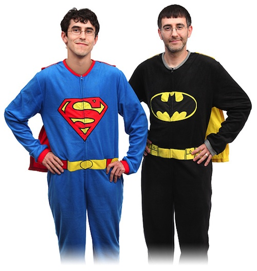 Superhero pajamas