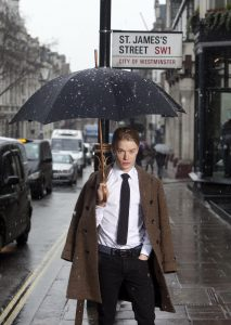 Freddie Fox launches White Shirt Week in St James's London