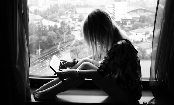 Babe reading