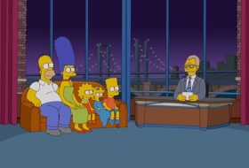 The Simpsons Letterman Couch Gag
