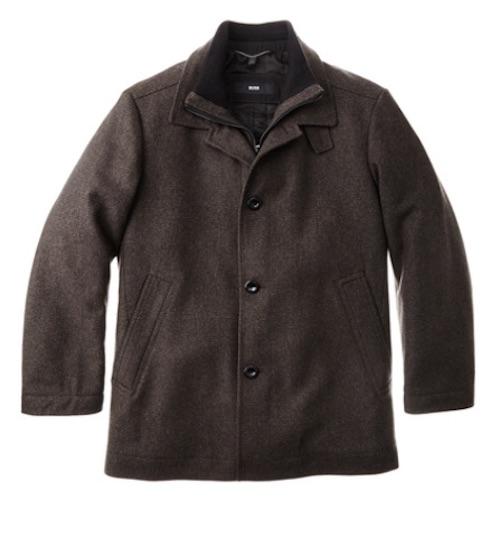 boss overcoat