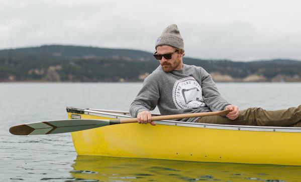 Norquay Painted Canoe Paddles