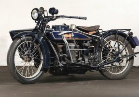 1925 Henderson De Luxe with Goulding Sidecar