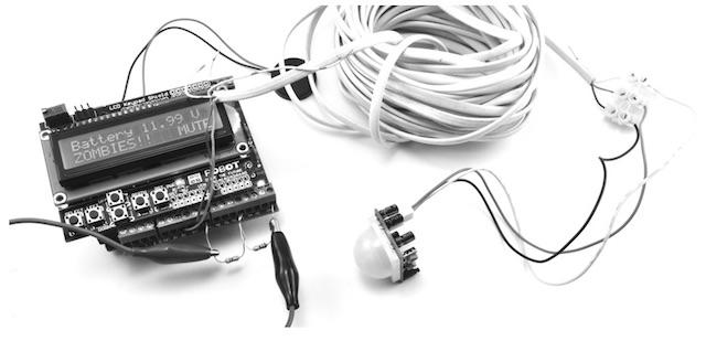 Figure 4-10- PIR zombie detector
