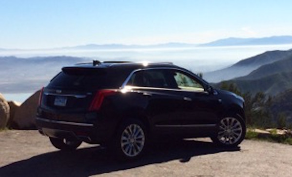 Cadillac XT5 in California