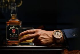 Whiskey Barrels And Steel: Original Grain Watches
