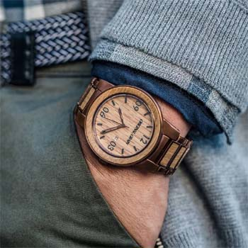 the best watch watches handcrafted with whiskey style barrel made wood kickstarter