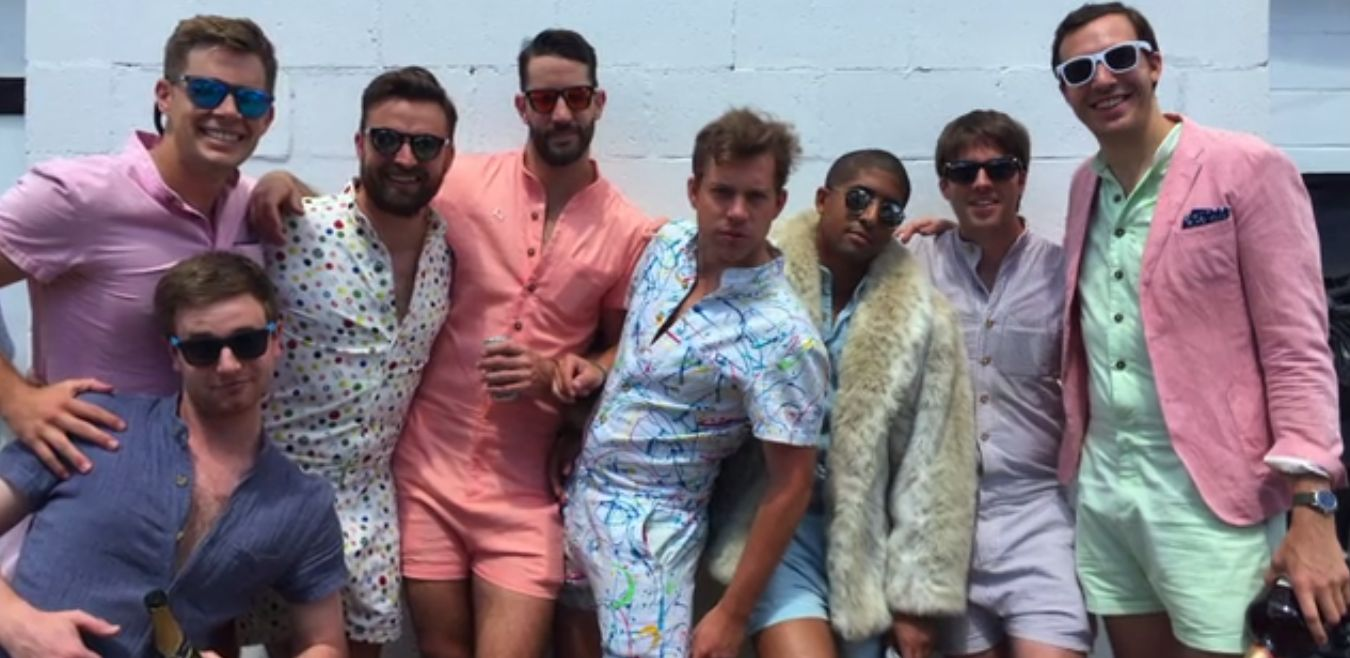The RompHim, romper for men - Courtesy of Kickstarter