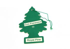 Stinky car? Forget the pine tree air-freshener