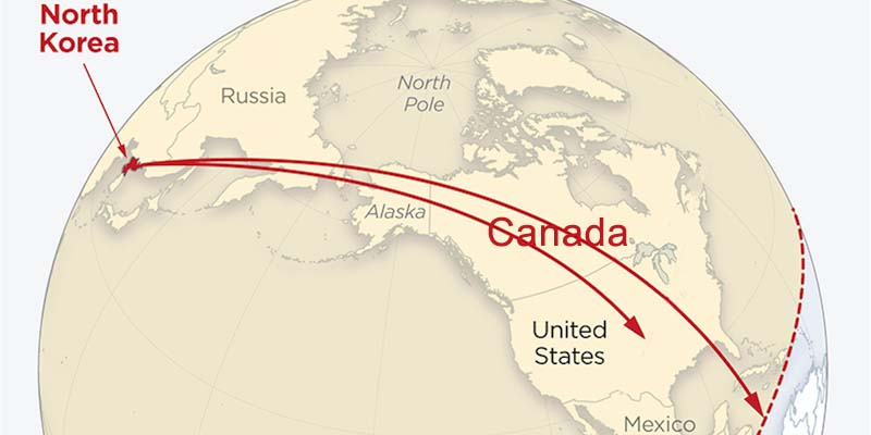 Why Canada is directly in the line of fire of any U.S. / North ...
