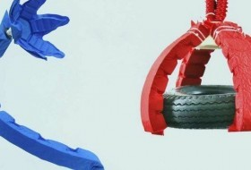 Artificial Origami Muscles Give Robots Superpower Strength