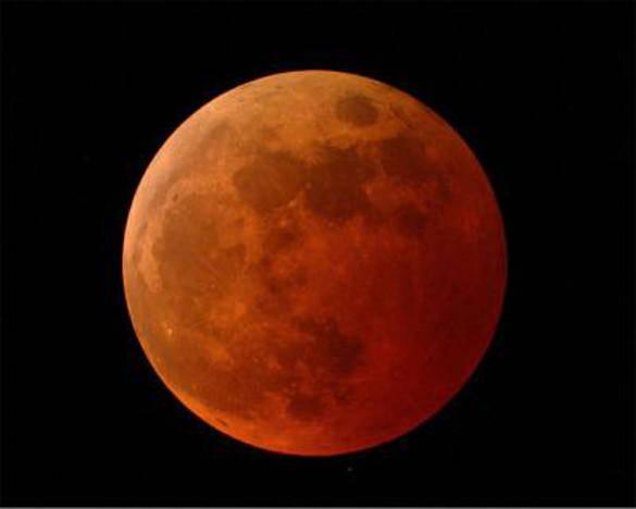 Super Blue Moon eclipse