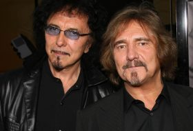 Tony Iommi and Geezer Butler