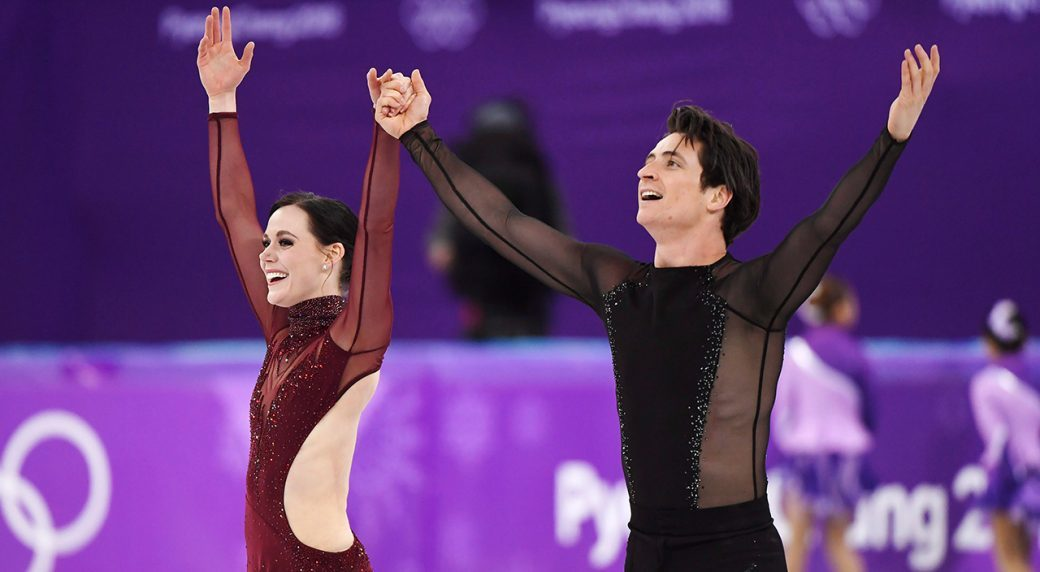 Tessa Virtue Scott Moir PyongChang