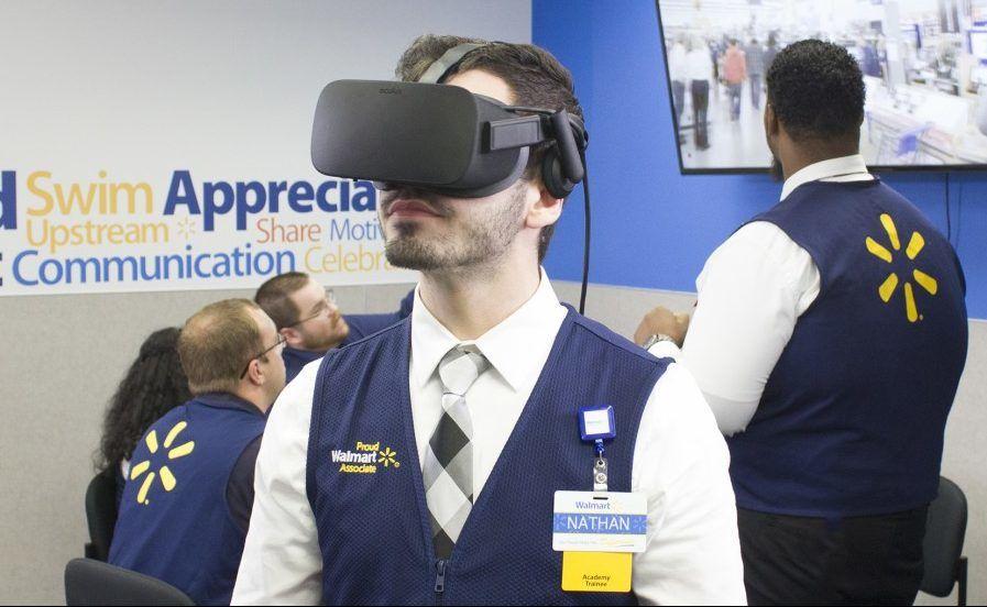 Walmart VR shopping demo