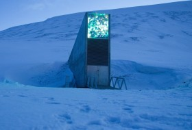 Norwegian Seed Vault Entrance