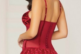 Valentines Day Bustier Lace Canada