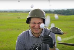 Mike Dojc playing Golf