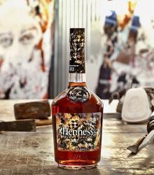 Hennessy and Vhils Team Up for New Bottle Art