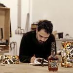 Q&A: Street Artist Vhils On New Hennessy Bottle Label
