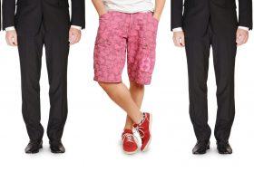 Men Shorts Office