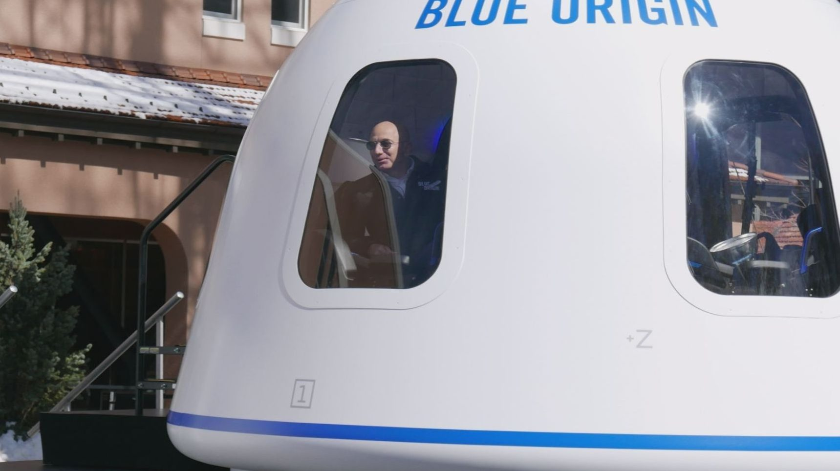 Jeff Bezos Spaceship Blue Origin