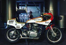1980 Yamaha XS650 Vodka Motorcycle