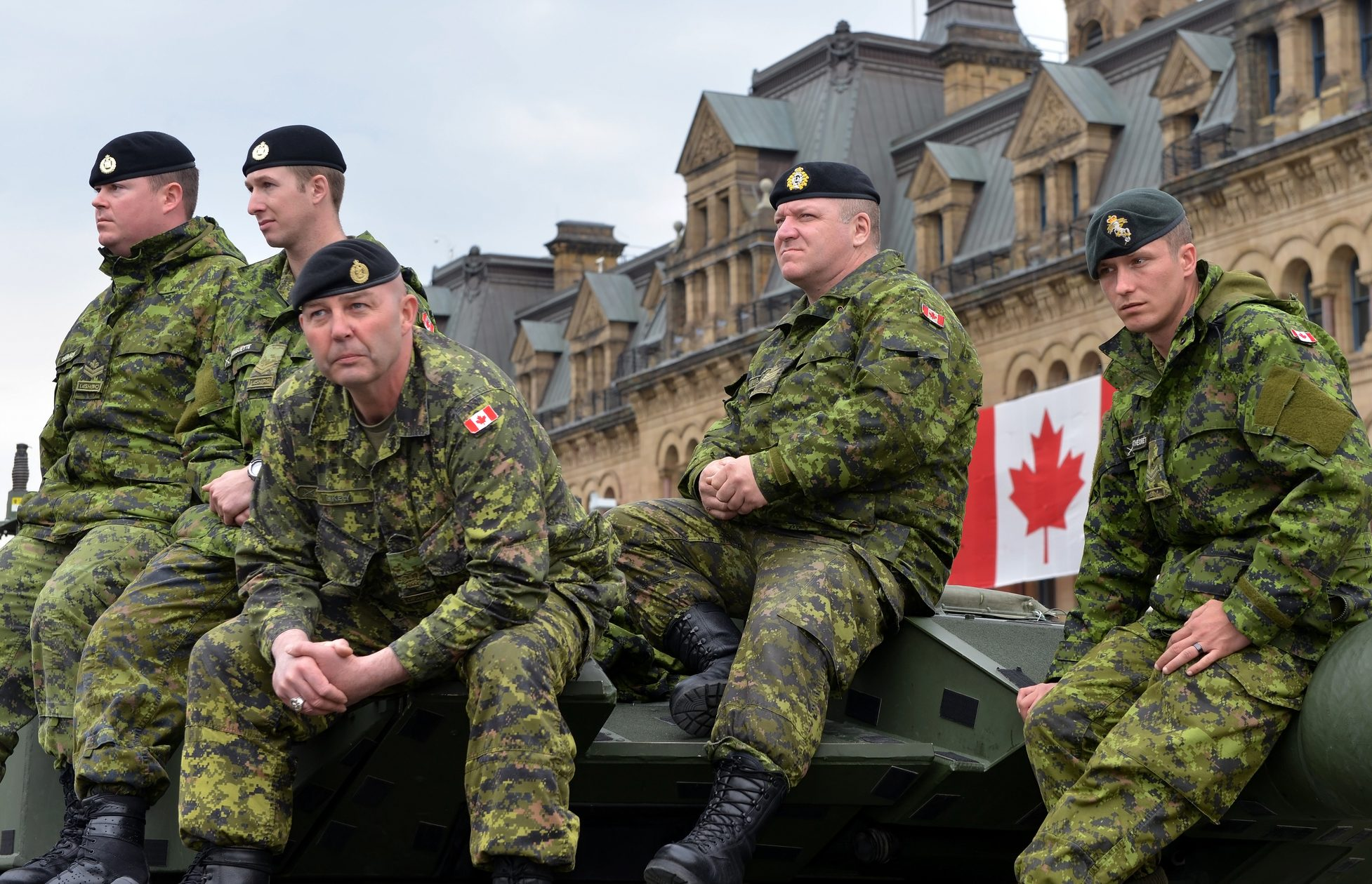 Canadian Military Troupe
