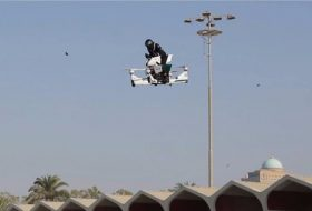Flying bike dubai