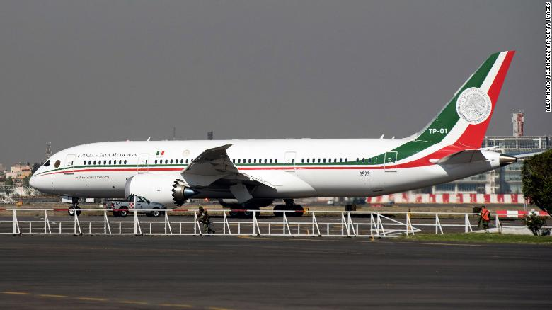 Mexico Boeing 787