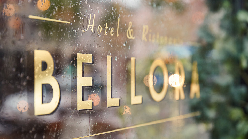 Hotel Bellora Sign