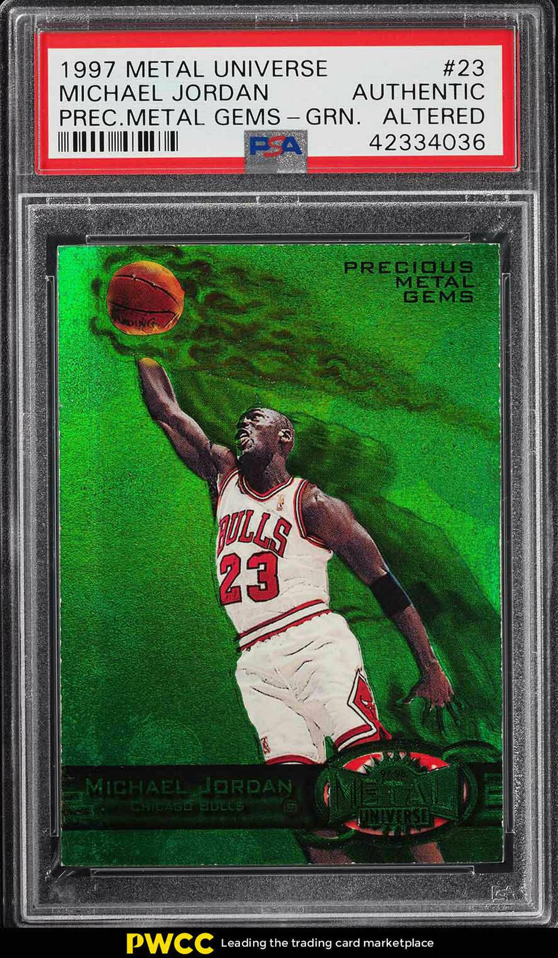 Michael Jordan Holy Grail Card