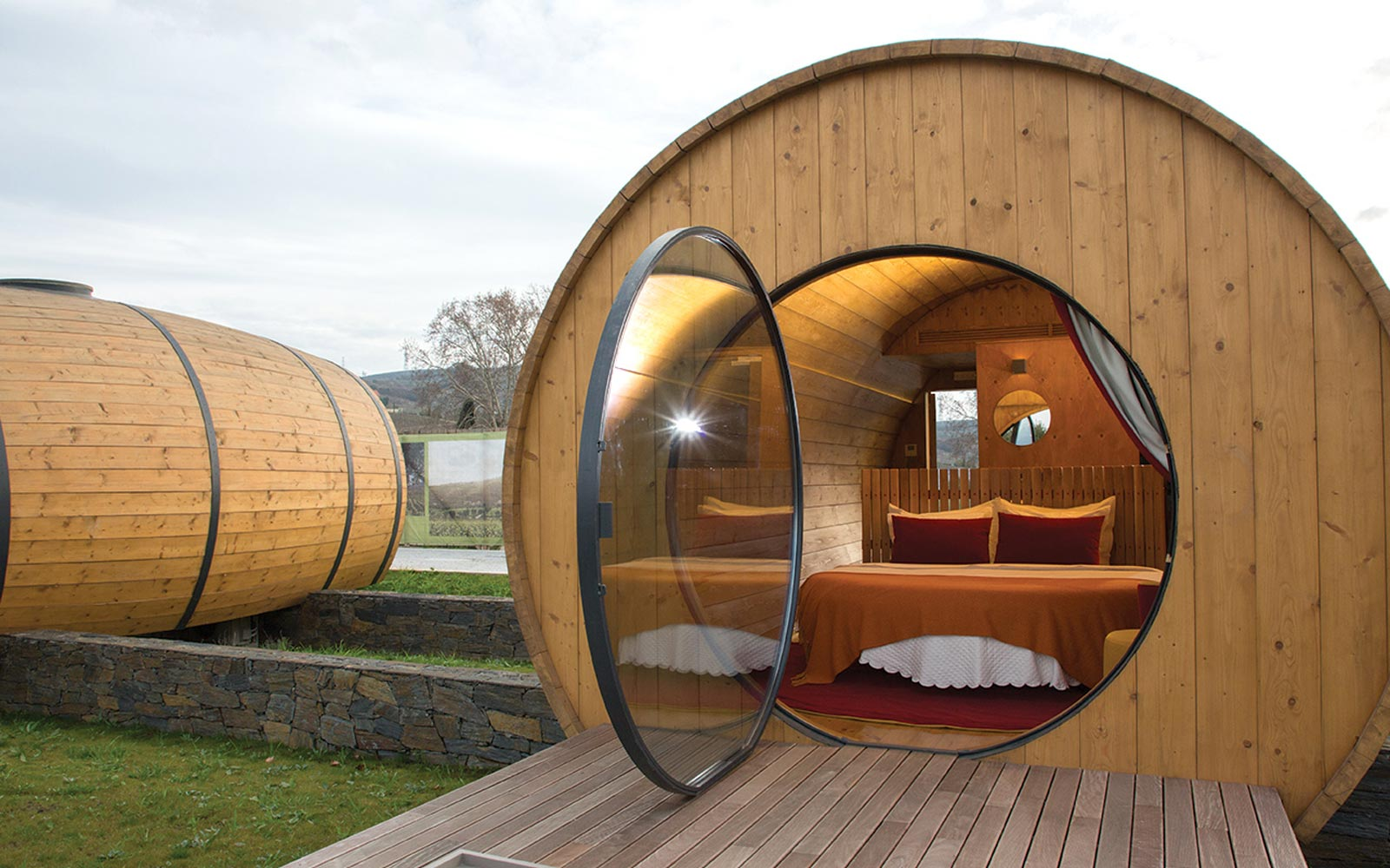 Wine Barrel Hotel Portugal